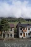 """Сванетия. Вид из окна гостиницы """"Svaneti"""""""