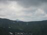 вон та верхушка вдалеке - гора Говерла, самая высокая вершина Украины