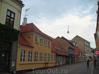 Типично датские домики в центре города