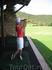 Учусь играть в гольф.