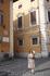 Пиза. Площадь  Кавальери. Мальтийский  крест на здании.