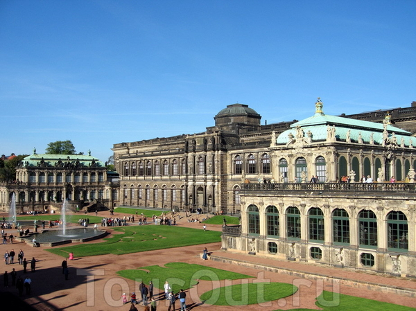 Дрезденский горшок  Dresdener Topf (Bundeslaender- Sachsen)