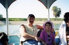 На лодке по Нилу