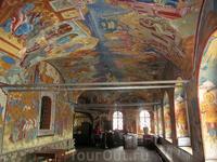 Фрески в притворе Воскресенского собора. сторона 2