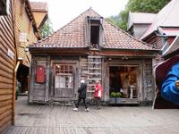 Старые домики во дворах набережной Брюгген