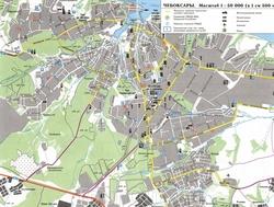 Карта Чебоксар