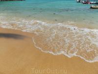 холодная вода на островах близ Чанга