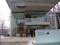 Современный музей связи.