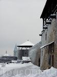Стена Нарвской крепости.