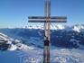 Крайняя точка большого Китцбюэля .    Внизу Холерсбах , а правее  и Брамберг..