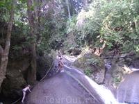 23 декабря 2010. Erawan Waterfall.