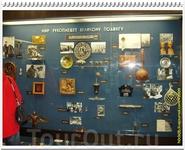 Многочисленные подарки Юрию Гагарину со всех концов света.