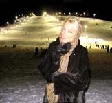 Главный спуск горнолыжного курорта ЛЕВИ, 2011