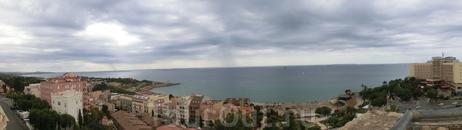 Вид в другую сторону - на море.