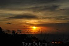 Закат солнца (не вручную)
