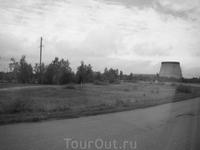 Едем в сторону ЧАЭС  на самом деле, мы и не предполагали, что нас повезут к самой станции, что мы будем фотографировать аварийный блок с 300 метров. ...