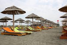 Черный пляж Ульциня