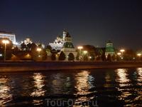 Крепостная стена и Кремлевские башни