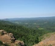 Вид с горы.