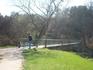 мостик через речку на Друскининкайской улице (она так и называется). Готическое место. Надо будет с видео картинок сделать.