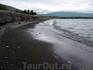 Озеро Севан. Вода холодноватая, а я мечтал искупаться.