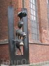 Фотография Памятник Бременским музыкантам (Рига)