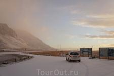 Вырвались из снежного плена по дороге на VIK