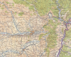 Яньцзи на карте