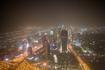 Ночной Дубай. Вид на Шейх Заяд роад