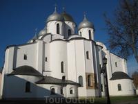 Софийский собор с территории Кремля