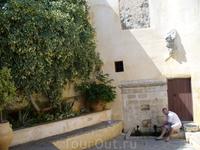 Святой источник на территории монастыря