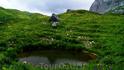 Еще одно небольшое озерцо уже в непосредственной близости к перевалу
