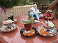 Тунисский чай с мятой и мороженое