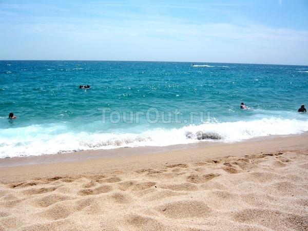 пляж Fenals Коста Брава