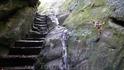 """От храма на скалу""""Петушок"""" ведет крутая""""Лестница жизни"""",вырубленная из камня"""