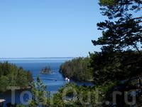 Открыла для себя, что Валаам- это более 50 островов.