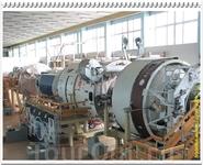 Тренажёр орбитального комплекса станции «Мир», в составе которого представлены базовый блок и пять модулей. Наша страна является пионером в создании тренажёров ...