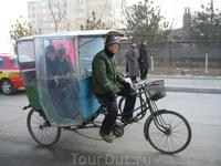 велорикша домчит вас  из пункта А в пункт B за копейки, а именно за 5 рублей