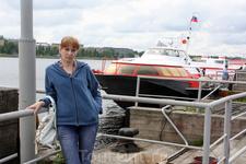 На причале в Петрозаводске