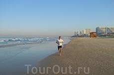 Ещё одна сэлфи на утренней пробежке вдоль моря