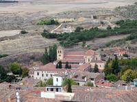 Вид на  Монастырь De Santa María Del Parral.