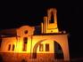 Церковь Иоаннна Предтечи ночью