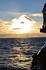 закат над морем