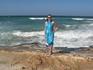 вот такой берег почти на всем побережье Айа-Напы. Есть только три нормальных места для купания