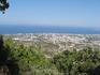 Вид с холма Филеримос.
