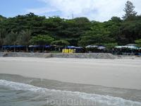 Один из пляжей острова