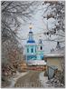 Арзамас. Церковь Сошествия Святого Духа, построена в 1752 году.
