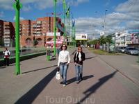 на центральной улице Ярославля