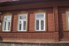 Домики в центре Ельца