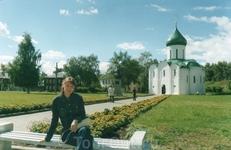 вид на церковь Александра Невского
